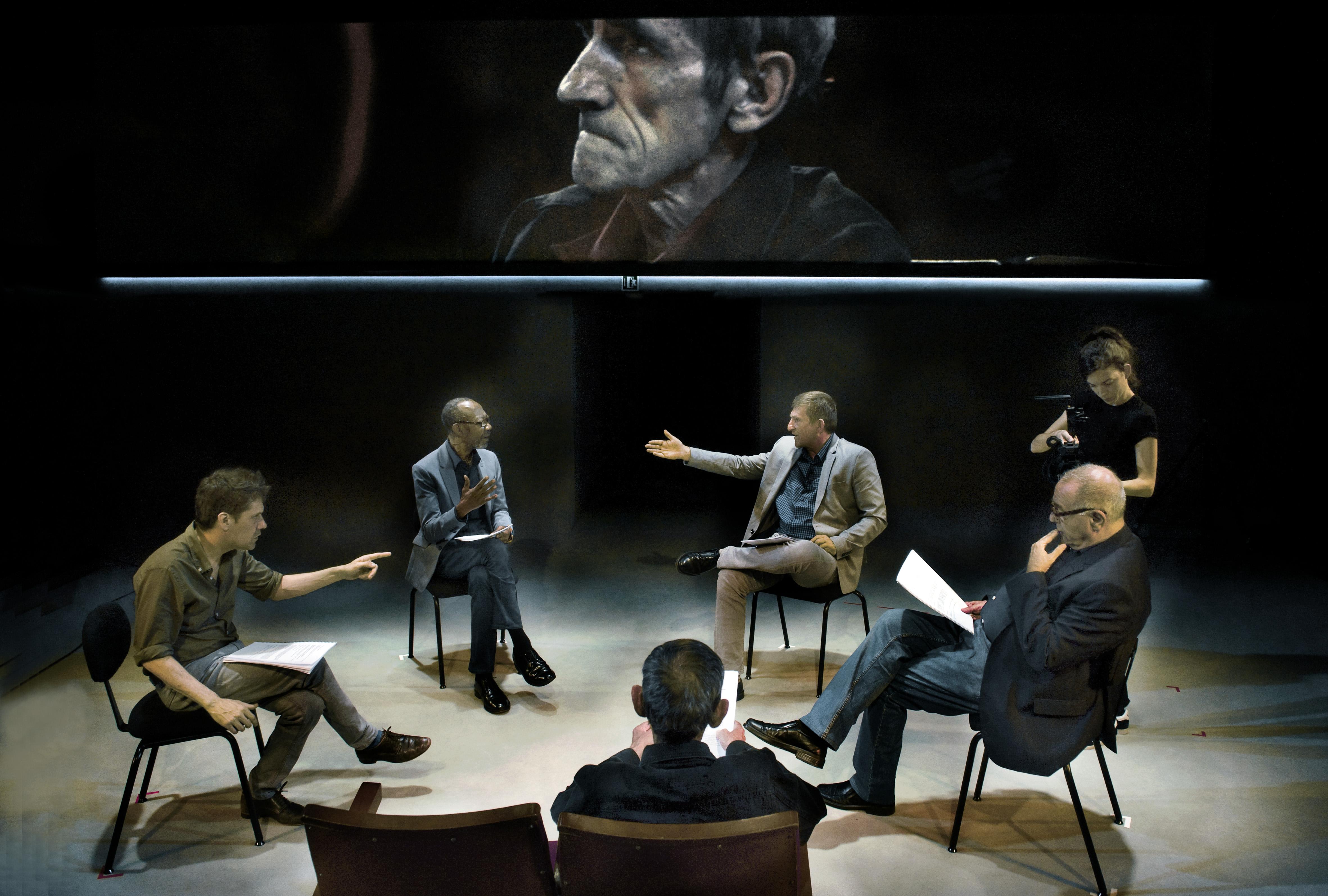 Sis personatges - Homenatge a Tomás Giner