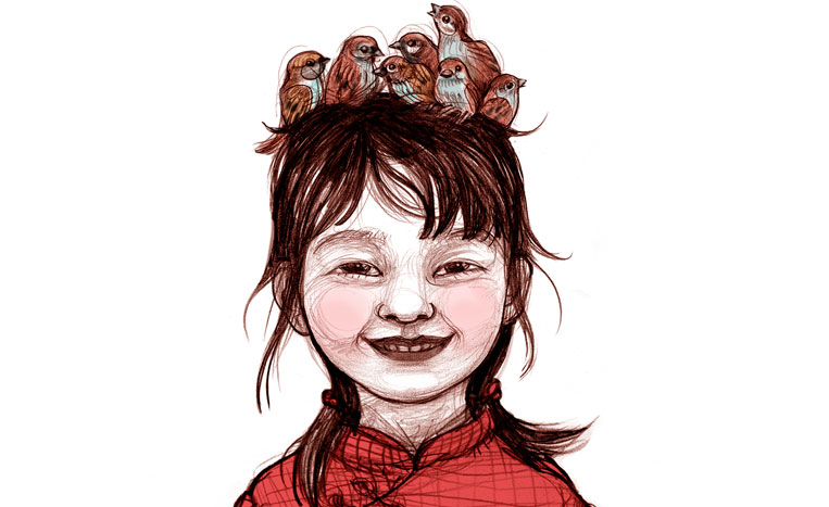 La nena dels pardals