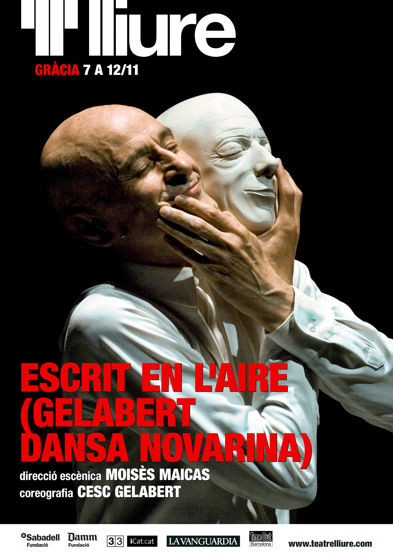 Escrit en l'aire (Gelabert dansa Novarina)