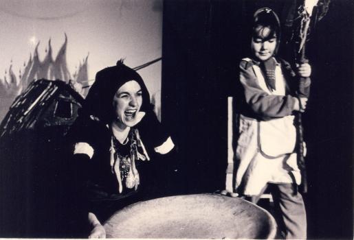 El Lliure dels nens - Con la bambola in tasca