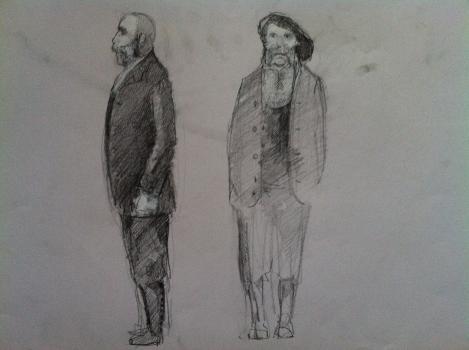 Els feréstecs - figurins