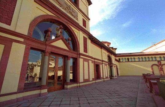 Teatre Lliure Montjuïc - terrassa